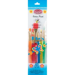 Big Kids Choice Beginner Brush Set-6/Pkg