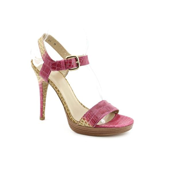 Stuart Weitzman Women's 'Strutting' Animal Print Dress Shoes (Size 10)
