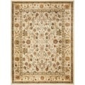 Safavieh Oushak Cream/ Cream Powerloomed Rug