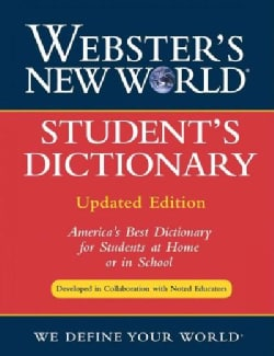 Webster's New World Student's Dictionary (Hardcover)