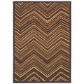 Aboriginal Lines Multi Area Rug (2'6 x 7'9)