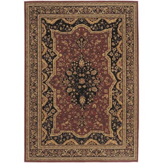 Antigua Brick Red Area Rug (2'6 x 11'5)