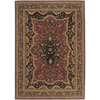 Antigua Brick Red Area Rug (5'5 x 7'5)