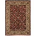Tommy Bahama Home 'Havana Bay' Cranberry Rug (7'9 x 10'10)