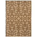 Tommy Bahama Island Lattice Beige Rug (7'9 x 10'10)