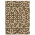 Tommy Bahama Island Lattice Ocean Green Rug (1'10 x 2'9)
