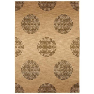 Tommy Bahama 'Mandalay Grand' Beige Rug (5'5 x 7'9)
