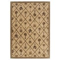 Tommy Bahama Home Rugs Beige Palms Away Transitional Rug (2'6 x 11'5)