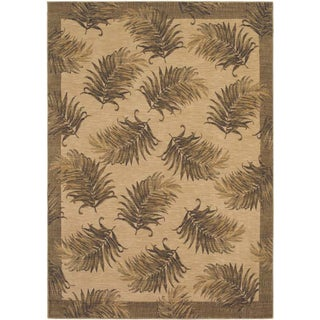 Tommy Bahama White Tahitian Breeze Area Rug (2'6 x 11'5)