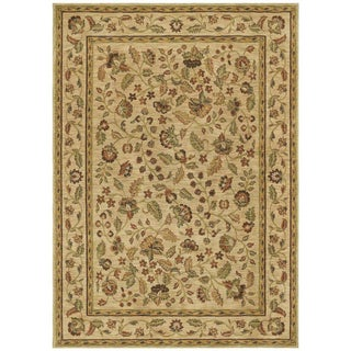 Tommy Bahama Beige Tapestry Garden Area Rug (1'10 x 2'9)