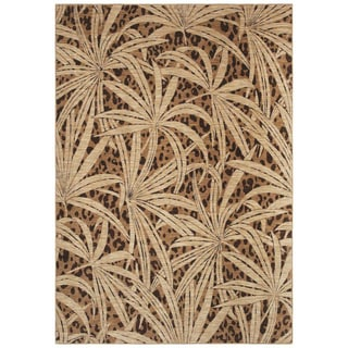 Tommy Bahama Home Rugs - Tossed Palm - Gold