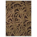 Tommy Bahama Brown Tossed Palm Area Rug (3'6 x 5')