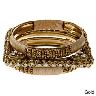Amrita Signh CZ Sonali Bangle Bracelet Set