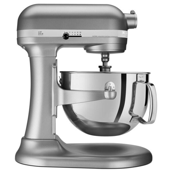 KitchenAid RKP26M1XSL Silver 6-quart Pro 600 Bowl-Lift Stand Mixer (Refurbished)