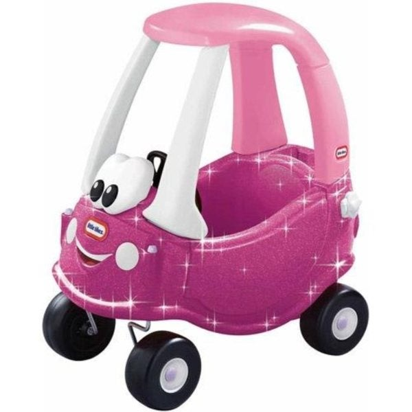 Little Tikes Princess Pink Glitter Cozy Coupe