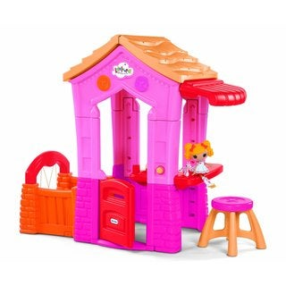 Lalaloopsy Spot Splatter Splash Doll and Playhouse