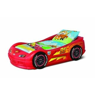 Lightning McQueen Roadster Toddler Bed
