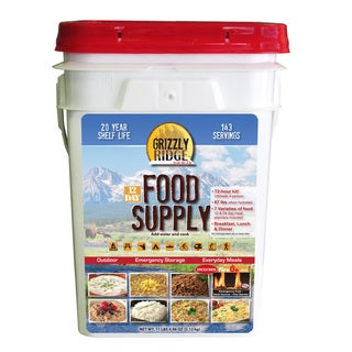 Grizzly Ridge 12-day Food Supply