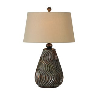 Highland Bronze-finish Table Lamp