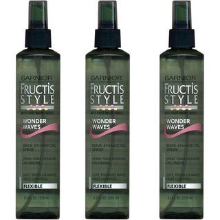 Garnier Fructis 8.5-ounce Wonder Waves Spray Flexible Hold (Pack of 3)