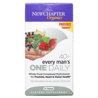 New Chapter Every Man's One Daily 40+ (72 Tablets)