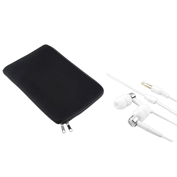 INSTEN Sleeve/ White Headset for Apple iPad 1st Gen