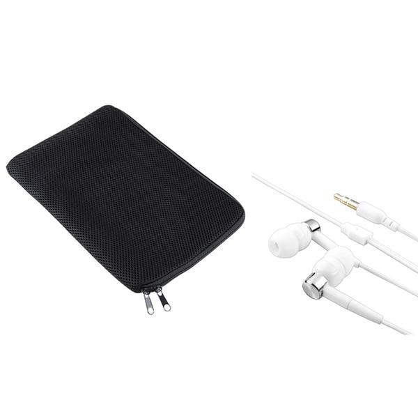 INSTEN Sleeve/ White Headset for Apple iPad 1st Gen