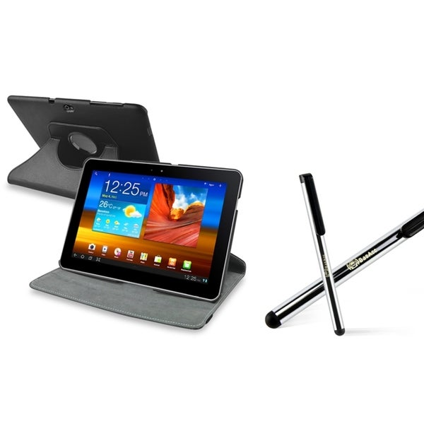 BasAcc Swivel Case/ Stylus for Samsung Galaxy tab 10.1-inch P7500