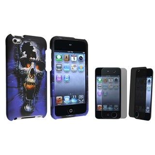 INSTEN iPod Case Cover/ Privacy LCD Protector for Apple iPod Touch 4th Generation