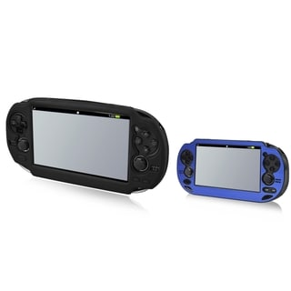 INSTEN Aluminum Case Cover/ Soft Silicone Case Cover for Sony Playstation Vita
