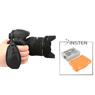 INSTEN Battery/ Hand Strap for Canon EOS Rebel T2i/ T3i/ 550D/ 600D