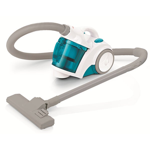 Sunbeam TurquoiseTurbo Brush Bagless Canister Vacuum Cleaner