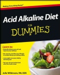 Acid Alkaline Diet for Dummies (Paperback)