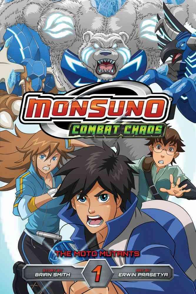 Monsuno Combat Chaos 1: The Moto Mutants (Paperback)