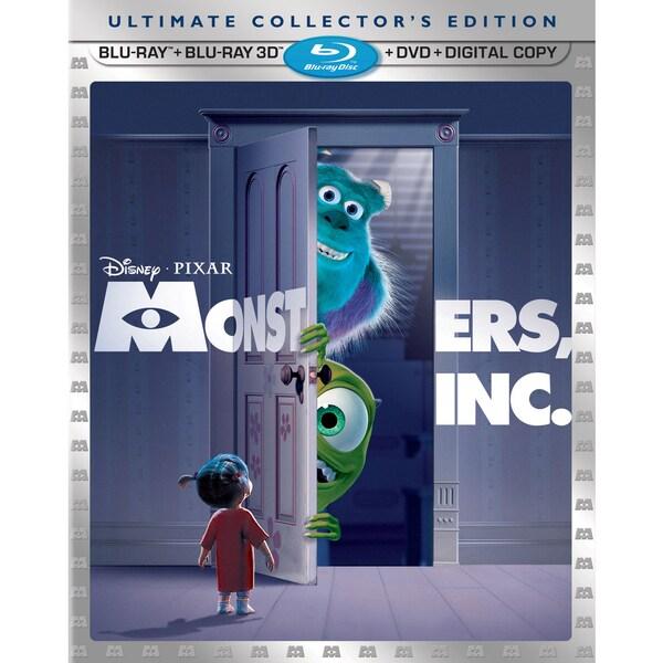 Monsters Inc. 3D (Blu-ray/DVD)