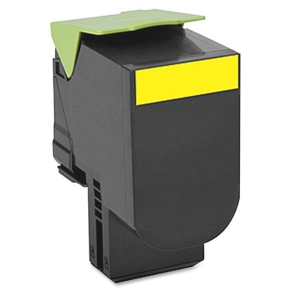 Lexmark 700H4 Yellow High Yield Toner Cartridge