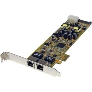 StarTech.com Dual Port PCI Express Gigabit Ethernet PCIe Network Card