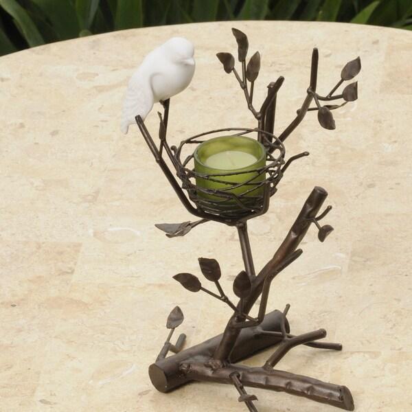 Les Prado Love Bird Fine Bone China and Metal Table Accent (Philippines)