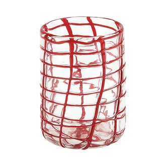 IMPULSE! Red Abstract Rock Collection Tumblers (Set of 4)