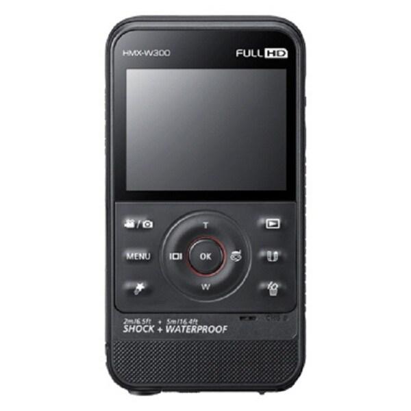 """Samsung HMX-W300 Digital Camcorder - 2.3"""" LCD - Full HD - Black"""