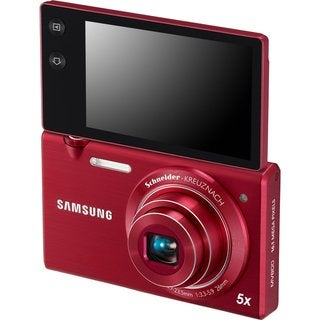 Samsung MV800 16.15MP MultiView Red Digital Camera