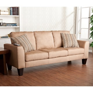 Upton Home Ascot Mocha Stationary Sofa
