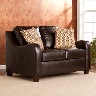 Upton Home Claymore Chocolate Loveseat