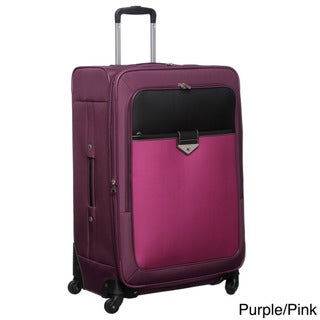 Nine West 'Colorblock' 28-inch Spinner Suitcase Upright