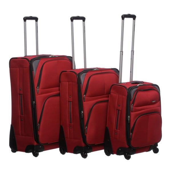 Pierre Cardin 'Somerset' 3-piece Spinner Luggage Set