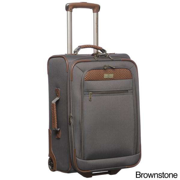 Tommy Bahama Retreat II 21-inch Wheeled Carry On Upright Suitcase