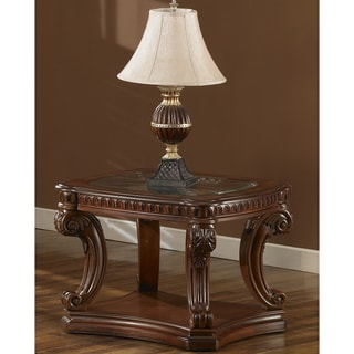 Estates II Cordovan End Table