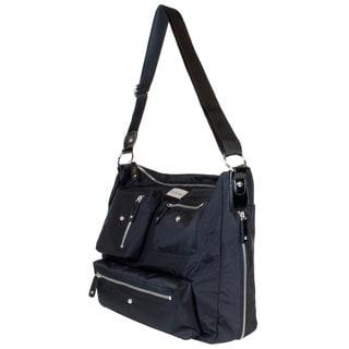 Amy Michelle Women's Iris Black Laptop Tote Bag