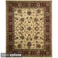 Nourison Hand-tufted Jaipur Light Gold Rug