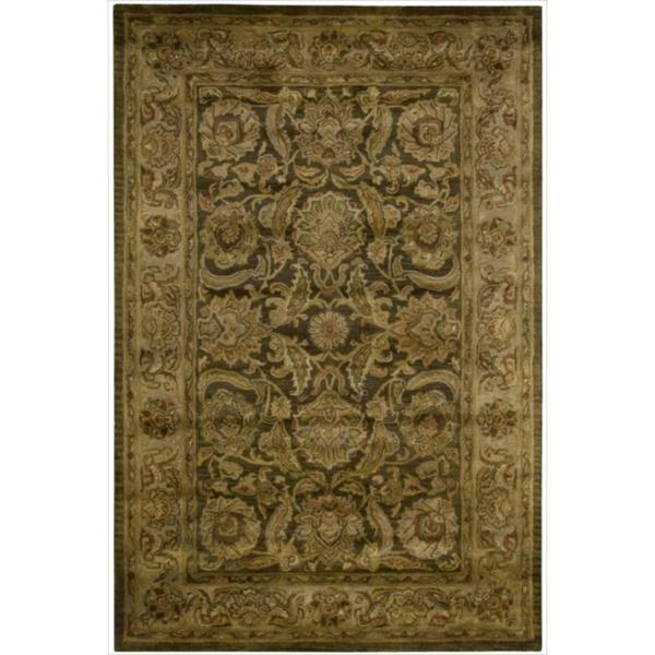 Nourison Hand-tufted Jaipur Coffee Rug
